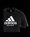 adidas Community T-Shirt Boxing schwarz adiCTB (Bild-2)