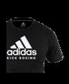 adidas Community T-Shirt Kick Boxing schwarz adiCTKB (Bild-2)