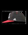 adidas Dream Snapback Cap schwarz/rot/grau adiBJJC01 (Bild-2)