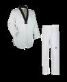 adidas ADI FLEX Taekwondo Anzug 190 schwarzes Revers WTF approved  ADITFL01 (Bild-2)