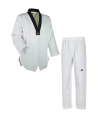 adidas ADI FLEX Taekwondo Anzug schwarzes Revers  ADITFL01 (Bild-2)