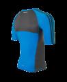 adidas Transition Rashguard S/S L blau/grau adiMMAR06 (Bild-2)