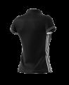 adidas T16 TEAM POLO WOMAN size XS schwarz/grau AJ5273 (Bild-2)