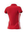 adidas T16 TEAM POLO WOMAN rot AJ5275 (Bild-2)