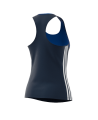 adidas T16 Clima Cool SL TEE WOMAN blau AJ5454 (Bild-2)