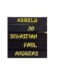 Direktbestickung NAME auf Gürtel sticken Schriftstil BAMBOO in GROSSBUCHSTABEN (Bild-2)
