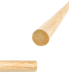 FW JO Weißeiche Kita selected Quality Holzstab ca. 127cm (Bild-2)