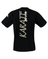 adiTS 01K Budo Spirit Karate T Shirt schwarz adidas (Bild-2)