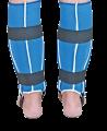 BN Jiu Jitsu Schienbein Ristschutz S blau IJJF approved (Bild-2)