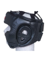 FIGHTER Kopfschutz Sparring mit Jochbeinschutz schwarz/rot (Bild-2)