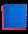 FW Sportmatte Eco 20mm 1x1m rot/blau Puzzle Wendematte (Bild-2)