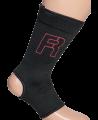 Fighter Fußknöchelschoner Ankle Support schwarz-rot (Bild-2)