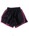 FW CORNER Thaibox Hose schwarz/rose Muay Thai Short pink (Bild-2)