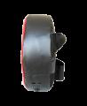 FW Roundmitt Schlagpolster rund 30 x 9 cm rot/schwarz (Bild-2)