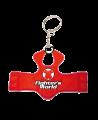 FW Schlüsselanhänger, Mini-Schutzweste TKD, rot/blau (Bild-2)