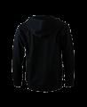 FW Hoodie Basic mit Zip, Kapuzensweater schwarz (Bild-2)