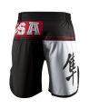 Hayabusa Flex Factor Fight Shorts rot/schwarz (Bild-2)