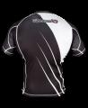 Hayabusa Recast Rashguard Kurzarm schwarz/weiß (Bild-2)