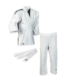 adidas J350 Judo Anzug Club 140cm weiß Junior (Bild-2)