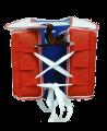 JCalicu Kampfweste Competition WTFapproved rot/blau beidseitig verwendbar (Bild-2)