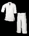 adidas K380 J ELITE Karateanzug weiß japanischer Schnitt (Bild-2)