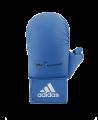 adidas Karate Faustschutz WKF + Daumen, XL blau 661.23 (Bild-2)