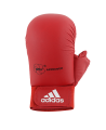 adidas Karate Faustschutz WKF + Daumen rot 661.23 (Bild-2)