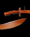 Kung Fu Säbel Roteiche 80cm (Bild-2)