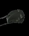 Messer Neckknife schwarz Gummigriff, Zacken am Klingenrücken (Bild-2)