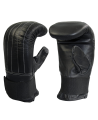 Boxsack Handschuhe Leder Bag Glove schwarz (Bild-2)