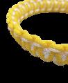 Muay Thai Armband Prajead gelb/weiß 3 Khan Armschmuck Prajiad (Bild-2)