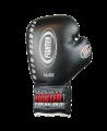 FIGHTER Boxhandschuhe Pro Lace 10 oz Schnürhandschuhe schwarz (Bild-2)
