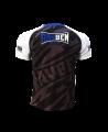 Rayben Zero T-shirt Kurzarm weiss/blau (Bild-2)