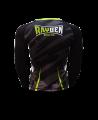 Rayben Zero Rashguard Langarm schwarz/grün (Bild-2)