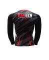 Rayben Zero Rashguard Langarm XL schwarz/rot (Bild-2)