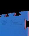 ProGame TKD Wettkampfmatte WT APPROVED rot/blau 0,8x0,8m x22mm (Bild-2)