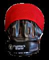 Fighter`s World XENON ALPHA Handpratze Focus Mitt red/black 1Paar (Bild-2)