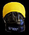 Fighter`s World XENON ALPHA Handpratze Focus Mitt black/yellow/grey 1Paar (Bild-2)