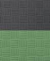 FW Sportmatte Club 24mm 1x1m  grün/grau Puzzle Wendematte (Bild-3)