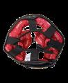FIGHTER Kopfschutz Sparring mit Jochbeinschutz schwarz/rot (Bild-3)
