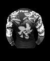Fuji Musashi Rashguard schwarz/weiss (Bild-3)
