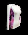 Fuji Sports Kimono Rashguard Damen Weiss/rosa (Bild-3)