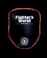 FW Handmitt Octagon Boxpratzen gebogen rot/schwarz (Bild-3)