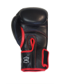 Fighter`s World  Linnox Training Boxhandschuhe 16 oz schwarz echt Leder (Bild-3)