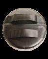 FW Roundmitt Schlagpolster rund 30 x 9 cm rot/schwarz (Bild-3)