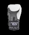 Fighter`s World  FIRESTORM Boxhandschuhe 12 oz weiß (Bild-3)