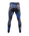 Hayabusa Metaru Compression Pants 47 Silver blau (Bild-3)