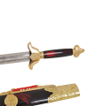 Kung Fu Schwert Jian Wettkampf Gr.SM Klinge 76cm  ges Länge 96cm (Bild-3)