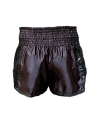 FW Thaibox Hose schwarz/rot Muay Thai Short (Bild-3)
