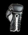 FIGHTER Boxhandschuhe Pro Lace 10 oz Schnürhandschuhe schwarz (Bild-3)
